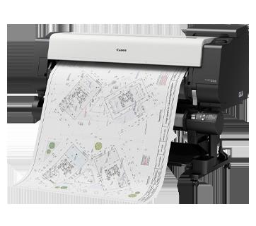 TX-5410 CAD Drawing Printing