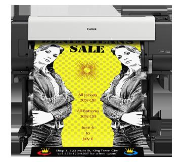 TX-5310 Borderless Printing