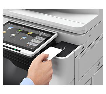 iR ADV DX C3835i with Copy Card Reader