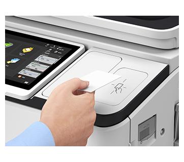 iR ADV DX 6780i with Copy Card Reader