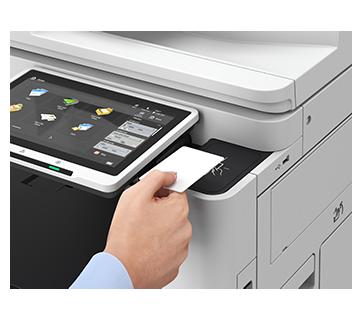 iR ADV DX C3730i with Copy Card Reader